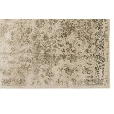 Colson Hand-Knotted Heather Gray/Storm Area Rug Rug Size: Rectangle 2 x 3