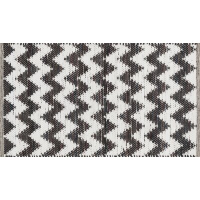 Vivian Dark Brown/White Area Rug VIVIHVI01DB002339