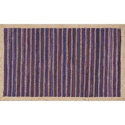 Gavin Hand-Woven Purple Area Rug