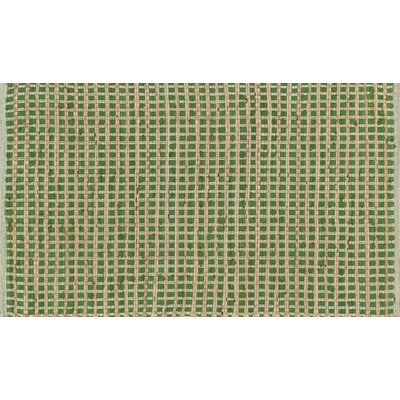 Raleigh Hand-Woven Green Area Rug Rug Size: Rectangle 18 x 3