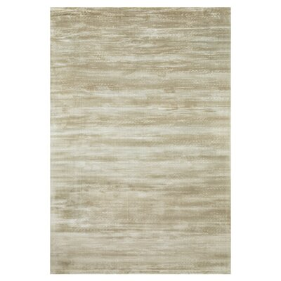 Keever Twill Taupe Area Rug Rug Size: Rectangle 33 x 53