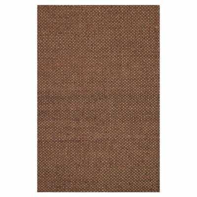 Reiche Hand-Woven Rust Area Rug Rug Size: Rectangle 5 x 76