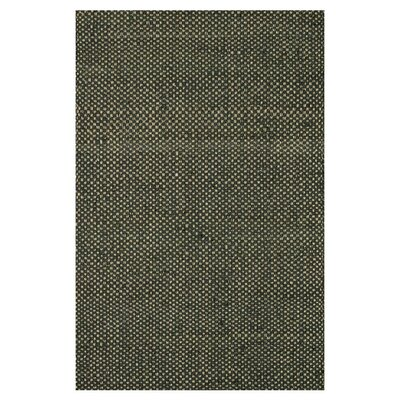 Reiche Hand-Woven Black Area Rug Rug Size: Rectangle 5 x 76