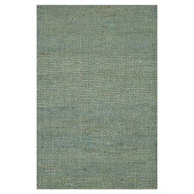 Eco Hand-Woven Blue Area Rug Rug Size: Rectangle 79 x 99