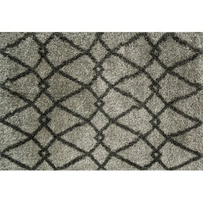 Nalder Gray/Charcoal Area Rug Rug Size: Rectangle 39 x 56