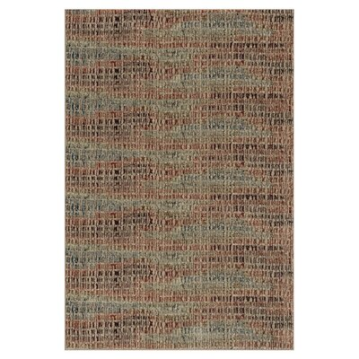 Vista Tan Area Rug Rug Size: 52 x 77