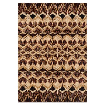 Trentelman Brown Area Rug Rug Size: Rectangle 23 x 39