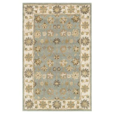 Maple Hand-Tufted Blue Area Rug Rug Size: 8 x 11