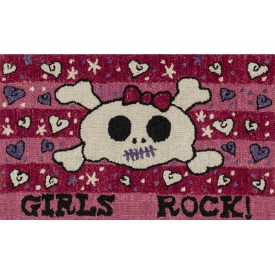 Jimerson Pink Area Rug