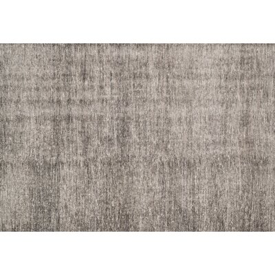 Kelch Charcoal Area Rug Rug Size: Rectangle 2 x 3