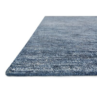 Jeffress Knotted Blue Area Rug Rug Size: Rectangle 2 x 3
