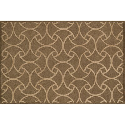 Cleary Light Brown/Beige Area Rug Rug Size: Square 7'6
