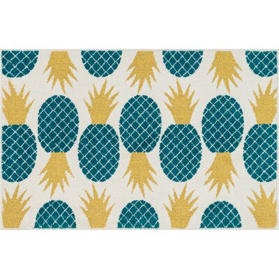 Tilley Doormat Rug Size: Slice 25 x 39