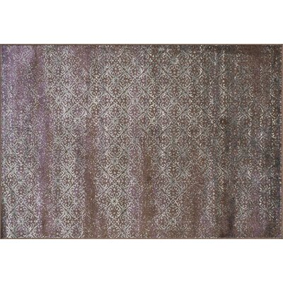 Elton Brown Area Rug Rug Size: 92 x 122