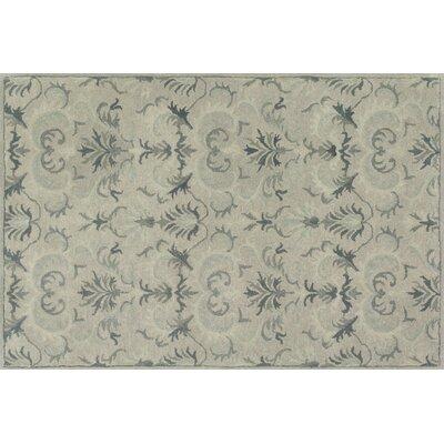 Fairfield Light Gray/Slate Area Rug Rug Size: 76 x 96