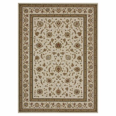 Welbourne Ivory Area Rug Rug Size: 23 x 39