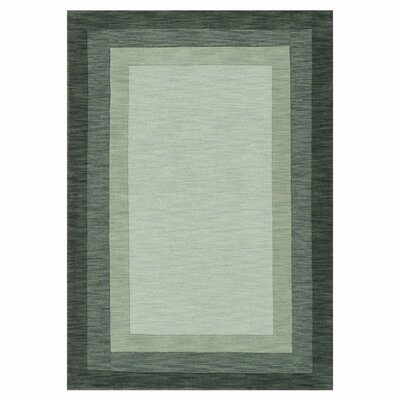 Hamilton Hand-Tufted Slate Area Rug Rug Size: Rectangle 36 x 56