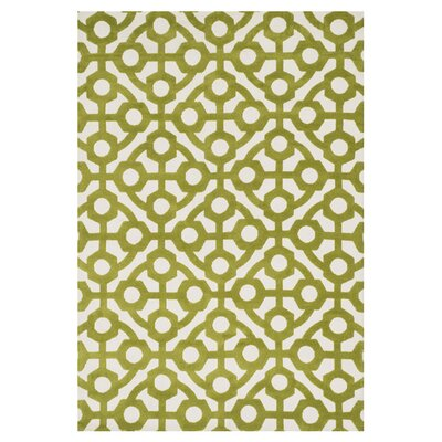 Cassidy Green Area Rug Rug Size: Rectangle 36 x 56