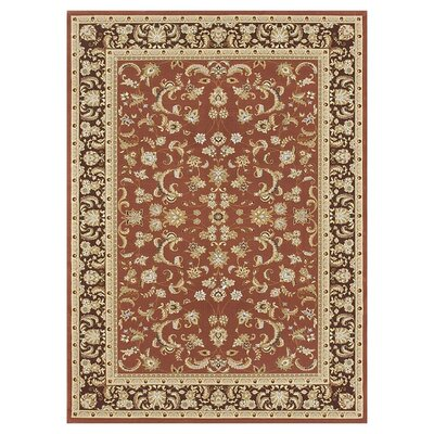 Welbourne Paprika/Coffee Area Rug Rug Size: Rectangle 112 x 146