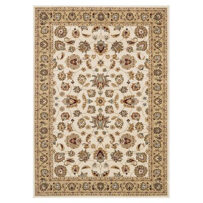 Welbourne Ivory/Beige Area Rug Rug Size: Rectangle 2 x 3