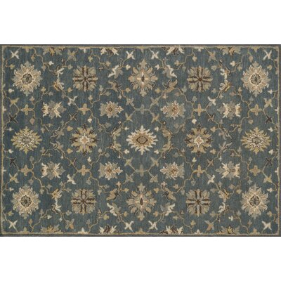 Fairfield Gray/Silver Area Rug Rug Size: 76 x 96