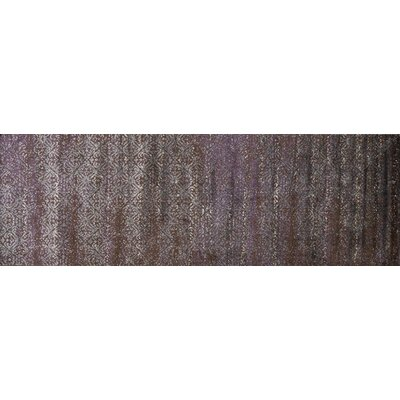 Elton Brown Area Rug Rug Size: Runner 26 x 77