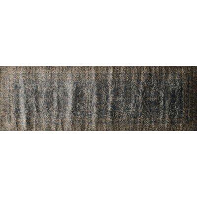 Elton Slate/Bronze Area Rug Rug Size: Runner 26 x 77