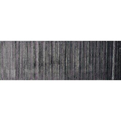 Elton Pewter Area Rug Rug Size: Runner 26 x 77