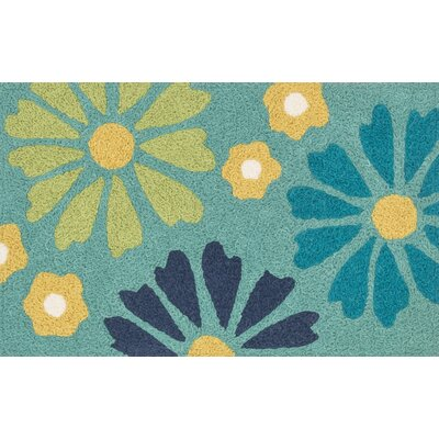 Jiles Green/Blue Area Rug
