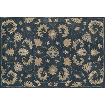 Fairfield Indigo Area Rug Rug Size: 76 x 96
