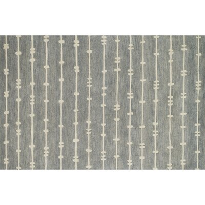 Pals Gray/Ivory Area Rug Rug Size: Rectangle 36 x 56
