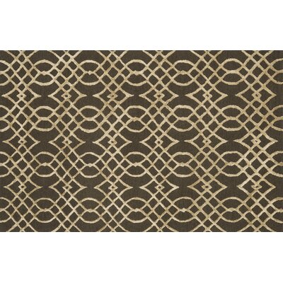 Kirkbride Chocolate/Khaki Area Rug Rug Size: Rectangle 23 x 39