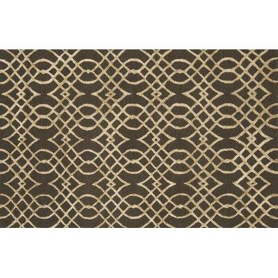 Panache Chocolate/Khaki Area Rug Rug Size: Rectangle 36 x 56