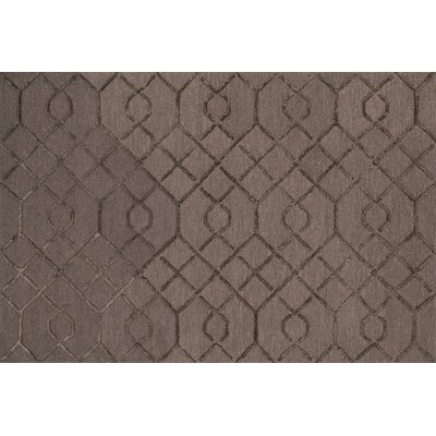 Kirkbride Raisin/Coffee Area Rug Rug Size: Round 76