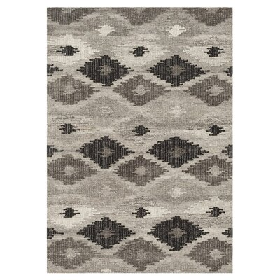 Bentleyville Gray/Charcoal Area Rug Rug Size: Rectangle 5 x 76