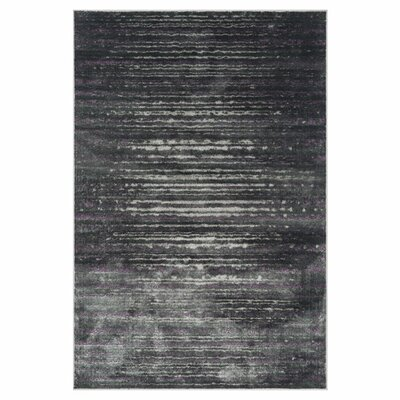 Elton Pewter Area Rug Rug Size: Rectangle 77 x 105