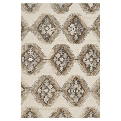 Akina Ivory Area Rug Rug Size: Rectangle 5 x 76