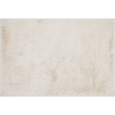 Siipola Shag Hand-Tufted Ivory Area Rug Rug Size: Rectangle 93 x 13