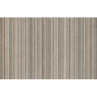 Rhodes Hand-Tufted Silver Area Rug Rug Size: 36 x 56