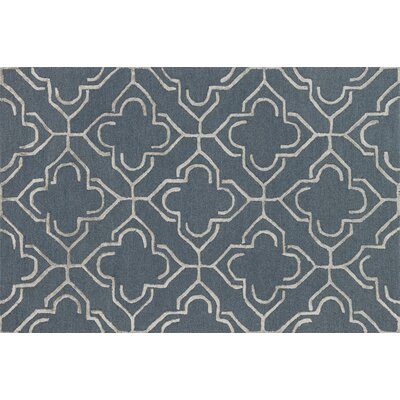 Panache Slate/Taupe Area Rug Rug Size: Round 76