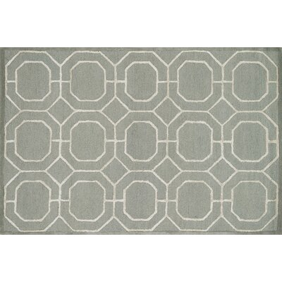 Panache Sage/Ivory Area Rug Rug Size: Rectangle 23 x 39