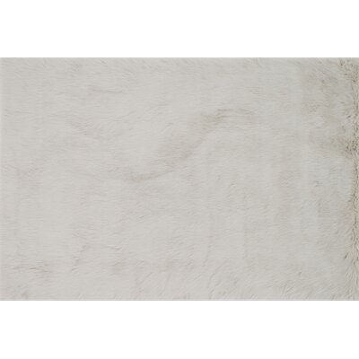 Zamorano Faux Fur Stone Area Rug Rug Size: Rectangle 3 x 5