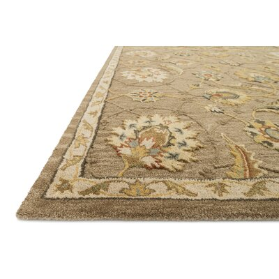 Kegler Mocha/Beige Area Rug Rug Size: Rectangle 93 x 13