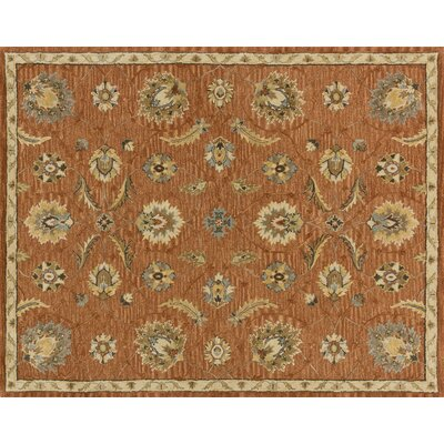 Kegler Spice/Beige Area Rug Rug Size: Rectangle 93 x 13
