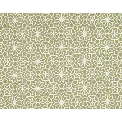 Francesca Hand-Woven Green Area Rug Rug Size: Rectangle 36 x 56