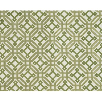 Maziarz Hand-Tufted Ivory/Green Area Rug Rug Size: Rectangle 79 x 99