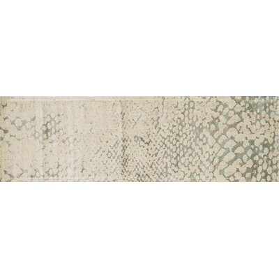 Journey Ivory Area Rug Rug Size: Runner 24 x 79