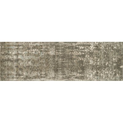 Journey Mocha Area Rug Rug Size: Runner 24 x 79