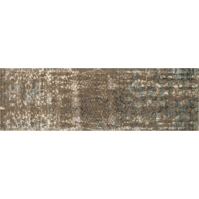 Journey Brown Area Rug Rug Size: Runner 24 x 79