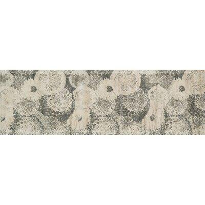 Durdham Park Ivory/Smoke Area Rug Rug Size: Runner 24 x 79